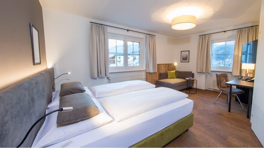 Skidsemester i Zell am See med Austria Travel - Hotel Heitzmann - Rum D
