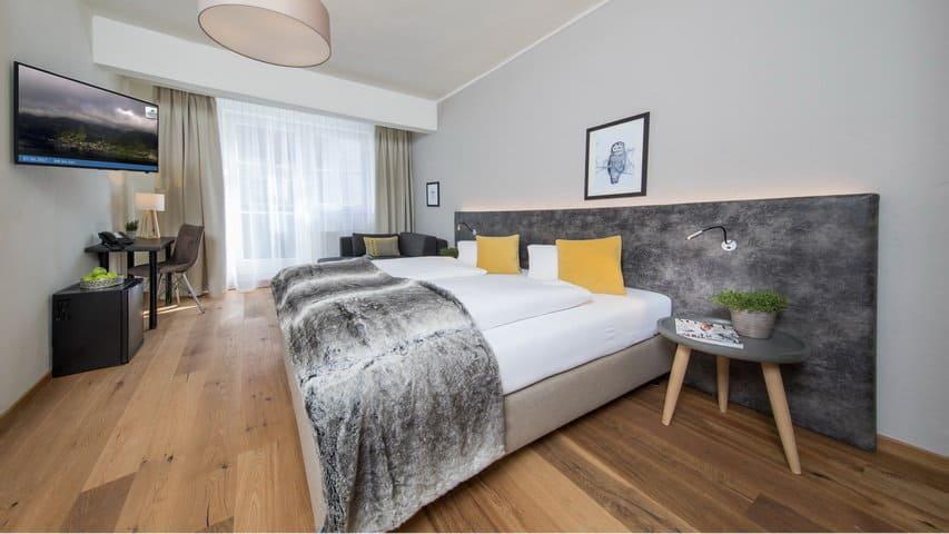 Skidsemester i Zell am See med Austria Travel - Hotel Heitzmann - Rum C