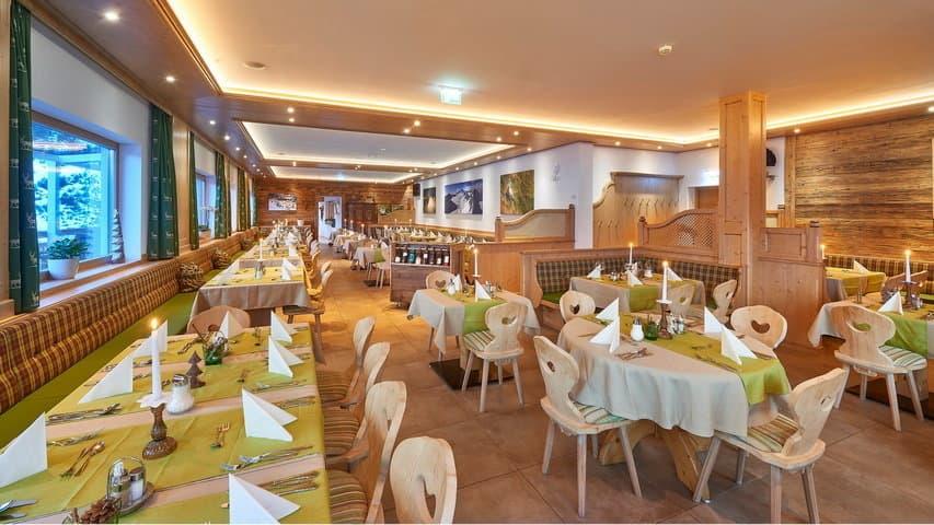 Skidsemester i Zell am See med Austria Travel - Gartenhotel Daxer - Restaurang A
