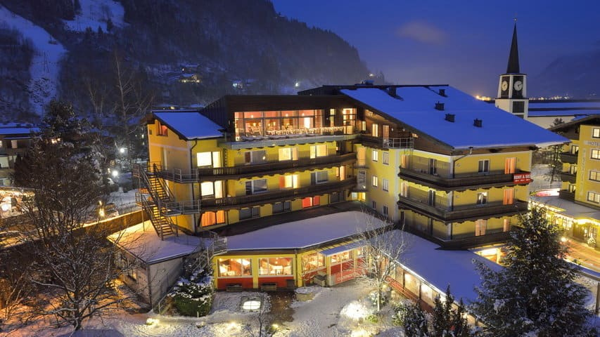 Skidsemester i Zell am See med Austria Travel - Bo på Hotel Schütthof 1