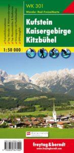 Freytag & Berndt Wanderkarte: WK 301 Kufstein • Kaisergebirge • Kitzbühel
