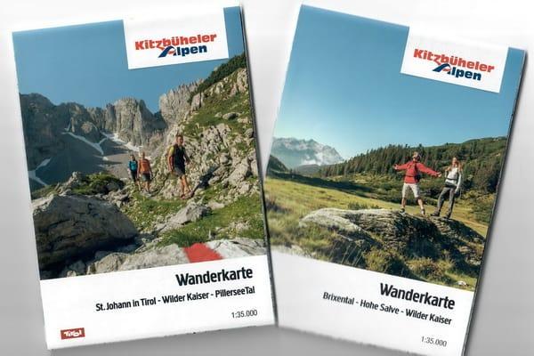 Kartor vandra till Kitzbühel