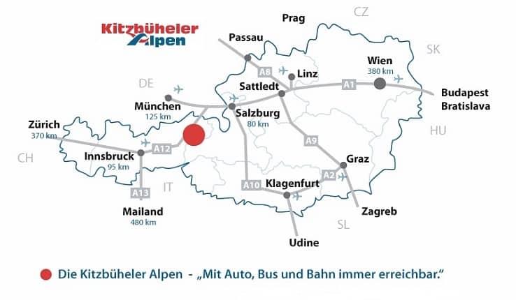 Vandra till Kitzbühel med Austria Travel
