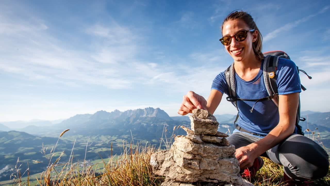 Bygg ett minne på Kitzbüheler Horn - Vandra till Kitzbühel - Austria Travel