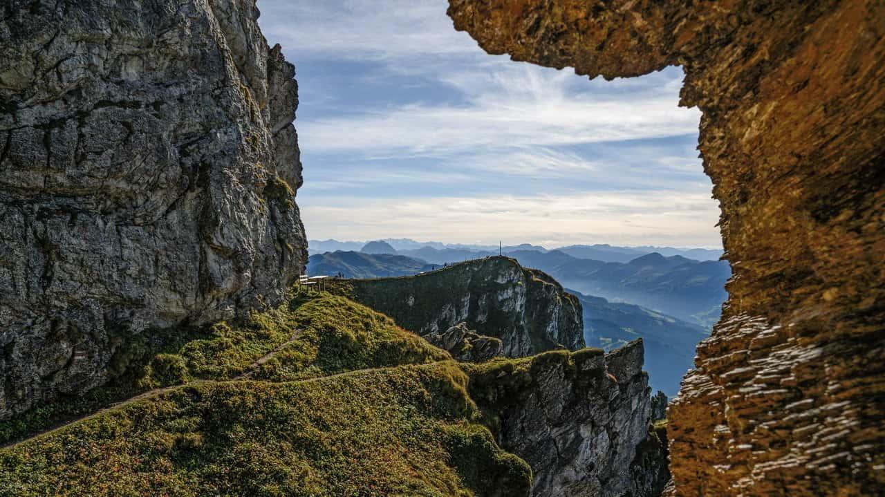 Spännande utsikt - Vandra till Kitzbühel - Austria Travel