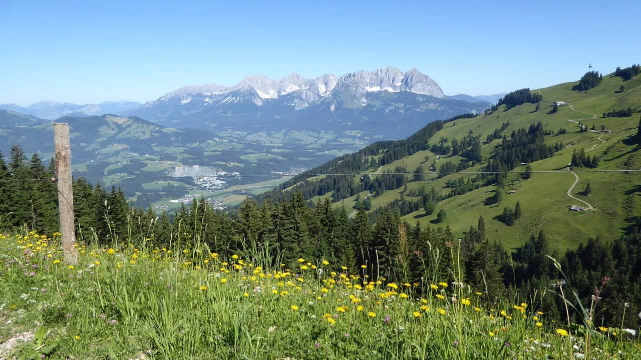 Vandring över Sound-of-Music-ängar till Kitzbühel © Austria Travel - Rusner