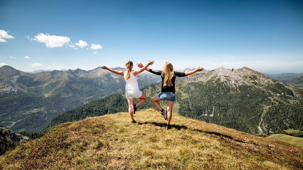 2 girls Lungau Österrike-Austria Travel