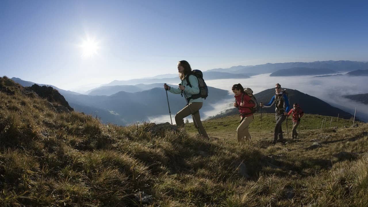 Morgonvandring Lungau Österrike-Austria Travel