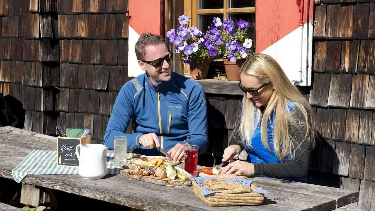 Vandring Hütte Lungau Österrike-Austria Travel