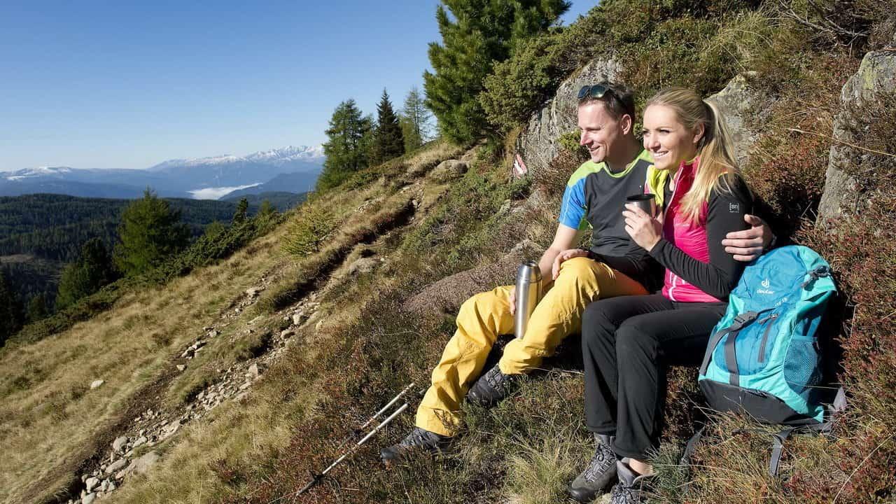 Höstvandring i Lungau Österrike-Austria Travel
