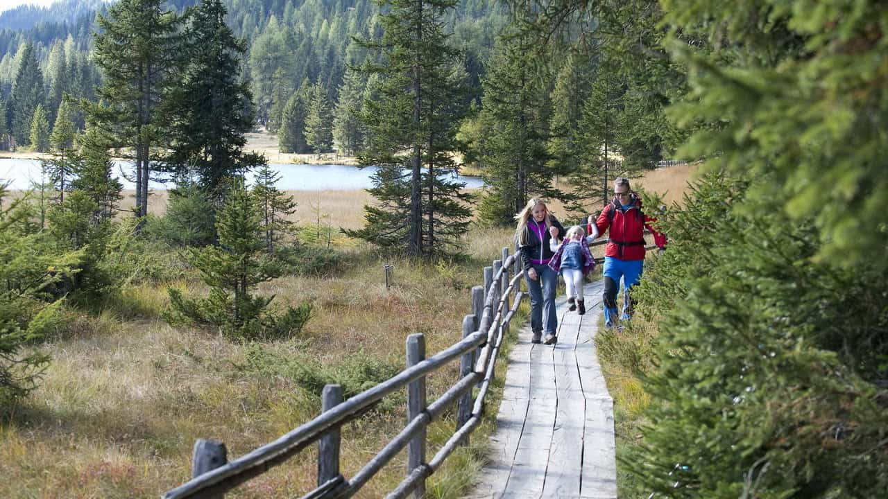 Vandring för familjer i Lungau Österrike-Austria Travel