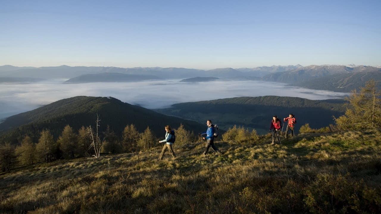 Soluppgångsvandring i Lungau Österrike-Austria Travel
