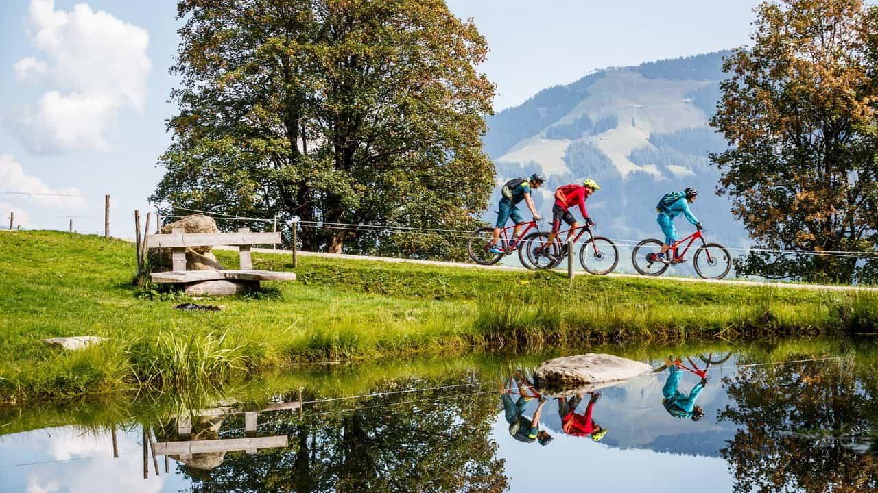 Mountainbike Kitzbühel Austria Travel