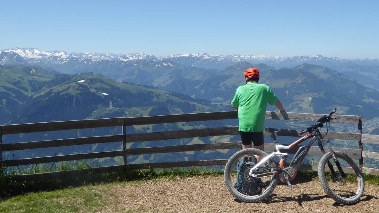 MTB Mountainbike Kitzbüheler Horn