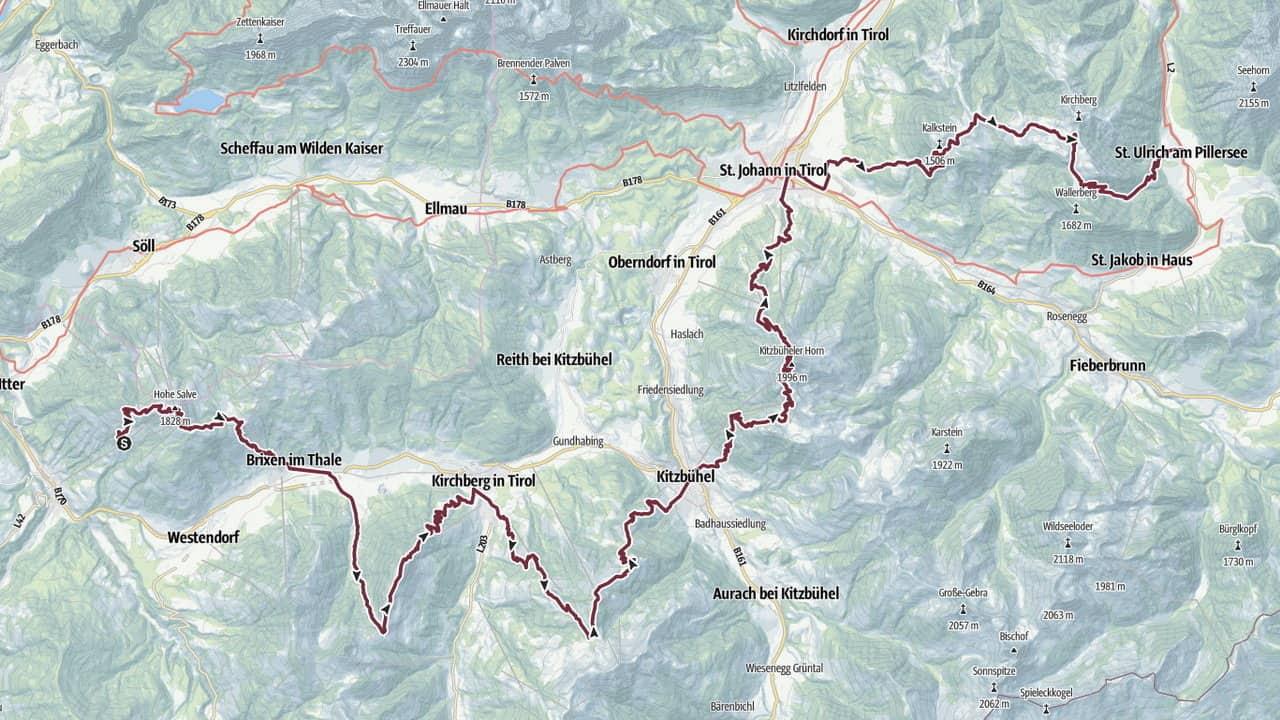 Vandra till Kitzbühel KAT Walk Austria Travel