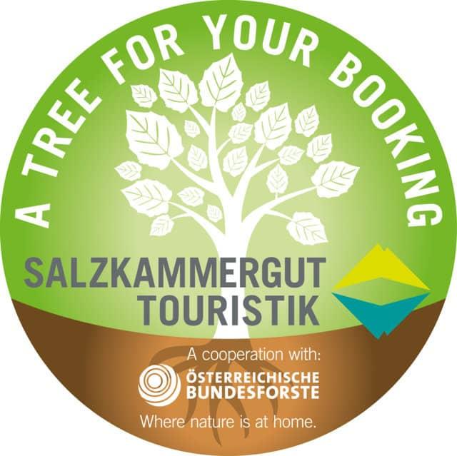 Tree booking CSR miljö Salzkammergut