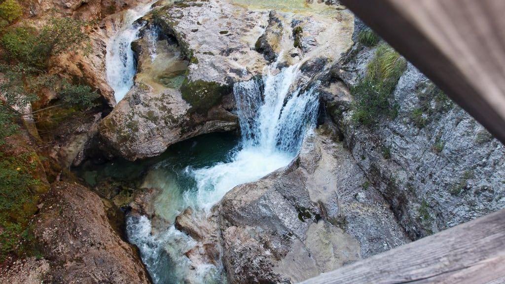Vandra i Ötschergräben Österrikes Grand Canyon