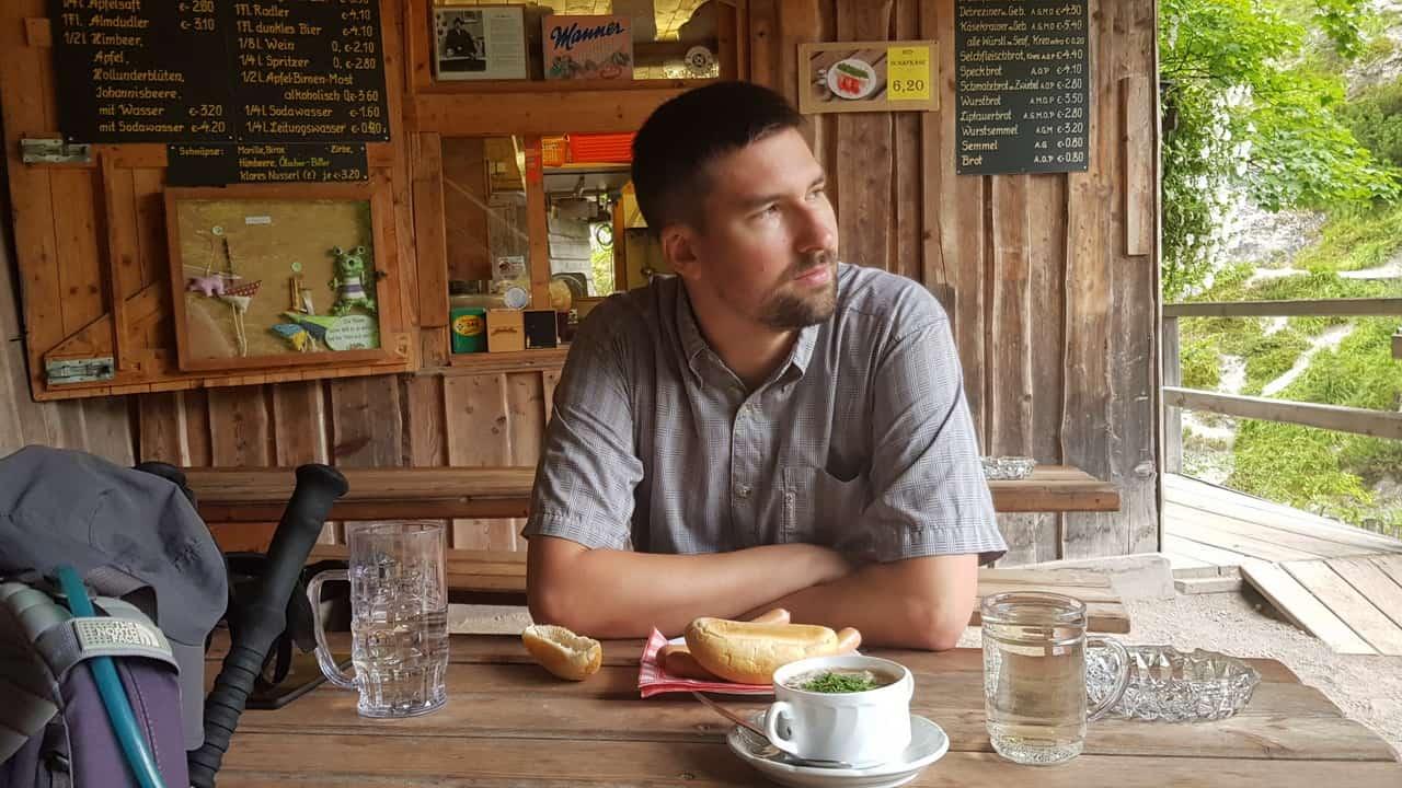 Christian Rusner vandring Ötscherhias Ötschergräben
