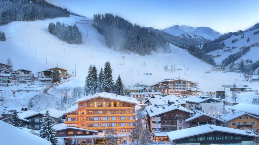 Skidsemester i Hinterglemm Austria Travel