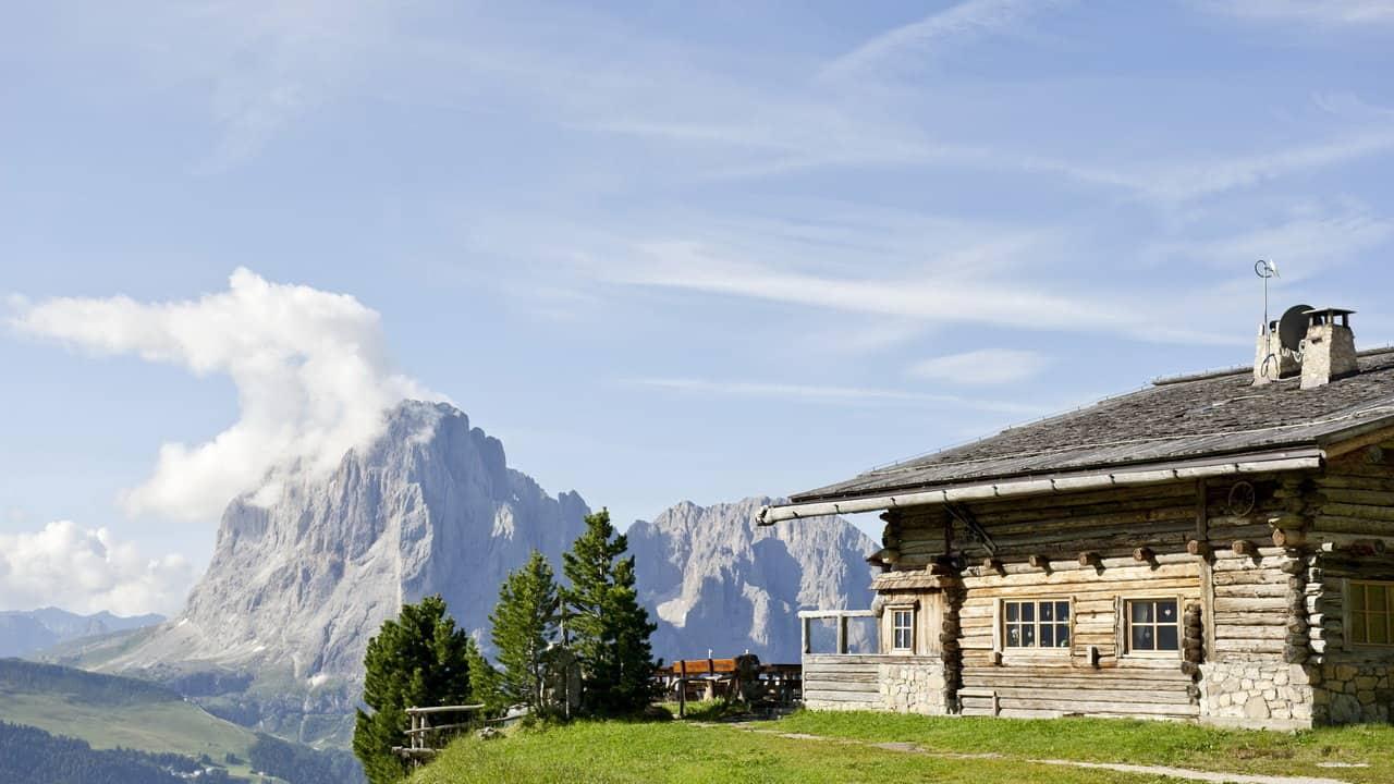 Danielhütte-i-Dolomiterna Vandra med Austria Travel