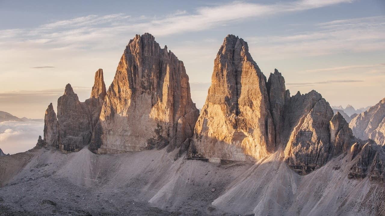 Drei Zinnen i Dolomiterna - vandra med Austria Travel