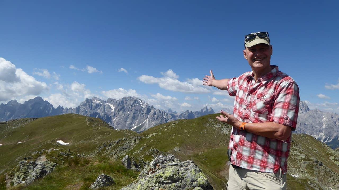 Grupp Dolomiternas naturparker Manfred Rusner
