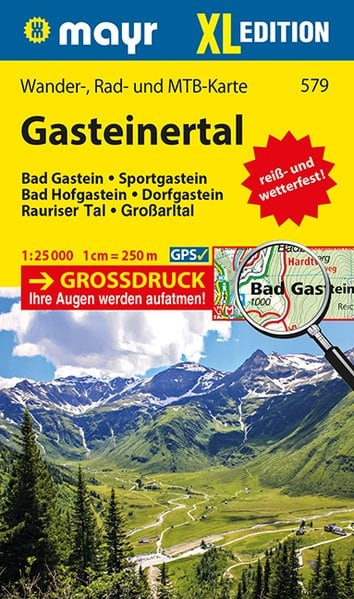 Karta Vandra Bad Gastein Austria Travel
