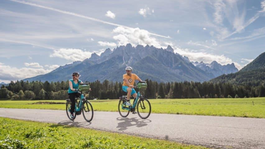 Cykling München Dolomiterna Venedig