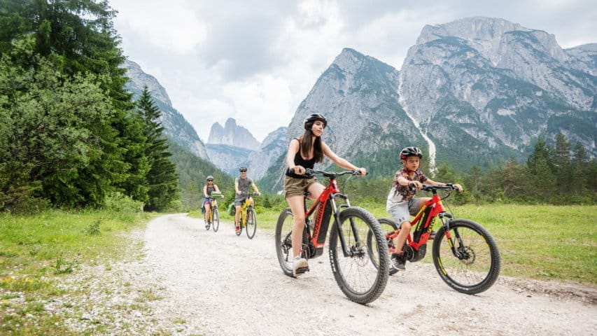 Cykling Drei Zinnen Dolomiterna