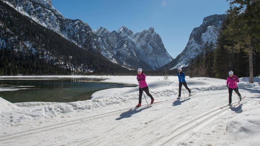 Längdåkning Pusterdalen Dolomiterna
