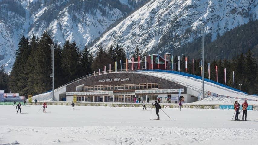 Nordic Ski Arena Dobbacio-Toblach Dolomiterna
