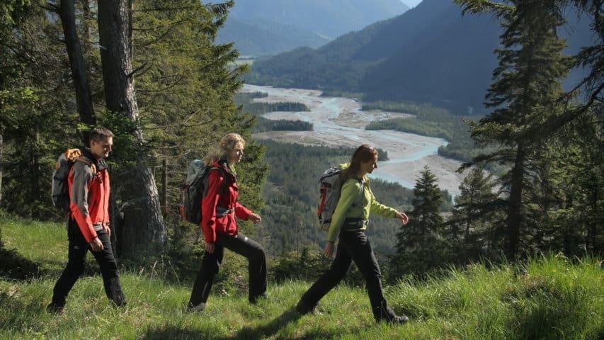 Lechdalen vandring