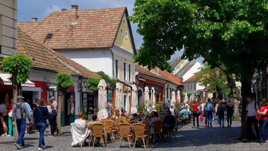 Szentendre cykelresa Donau