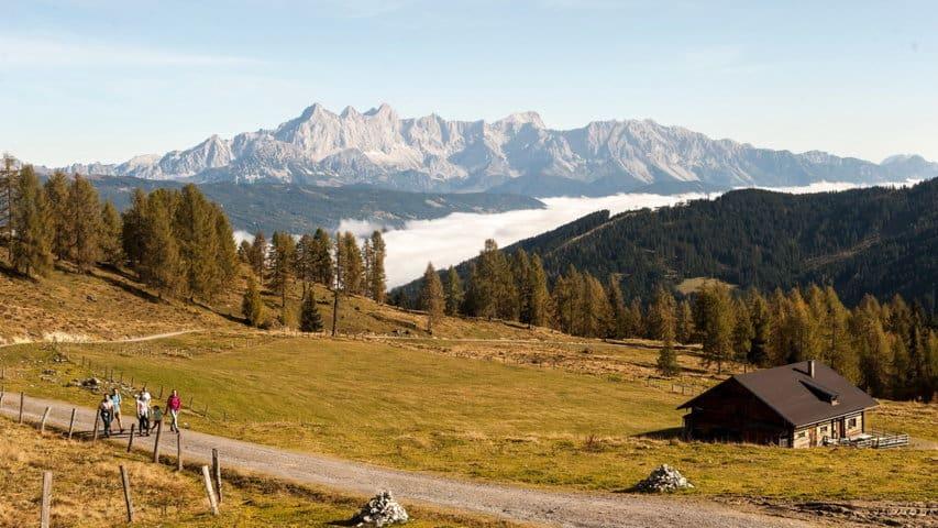 Höstvandring fäbodvallar Austria Travel