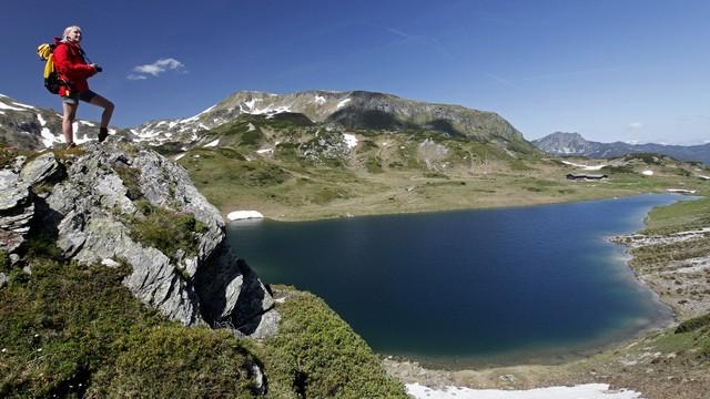 Oberhüttensee Salzburger Almenweg