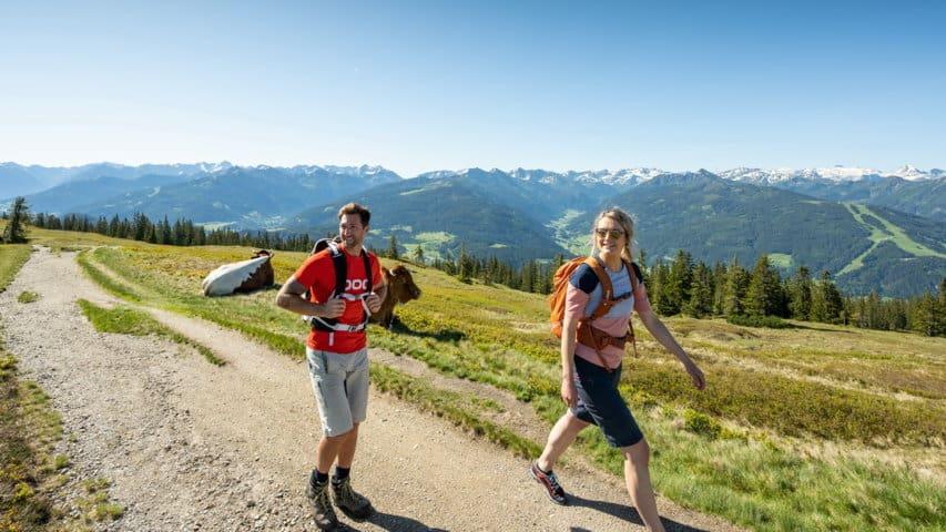 Vandring Salzburger Almenweg