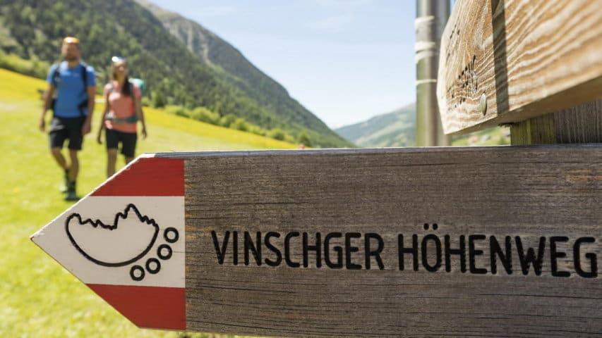 Par vandring Vinschgau