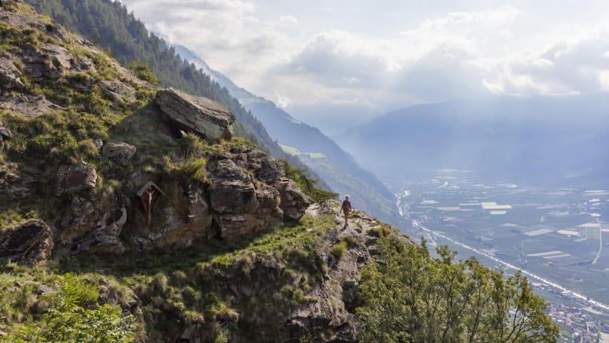 View Vinschger Höhenweg - Alta Via Val Venosta