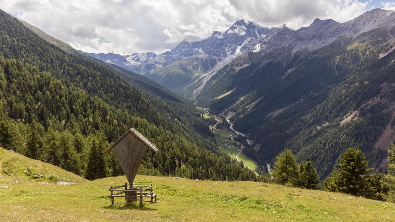 Prad Vinschgau Ortler vandring nationalpark Stilfserjoch Stelvio
