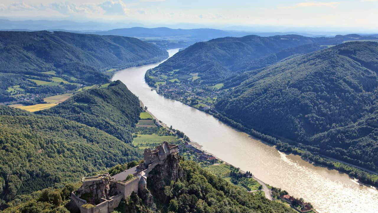 Cykla längs Donau Passau-Wien