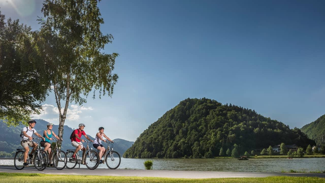 Cykeltur Donau Radweg till Wien