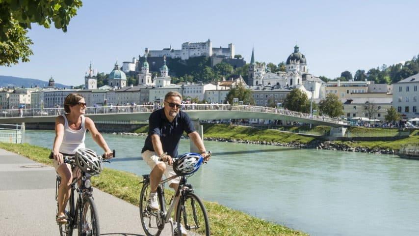 Cykla från Salzburg till Wien