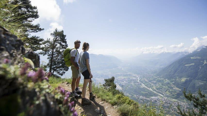Hur svår är vandringen från Merano till Gardasjön