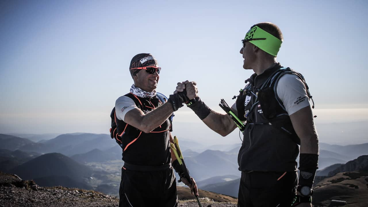 Trail running Dachstein