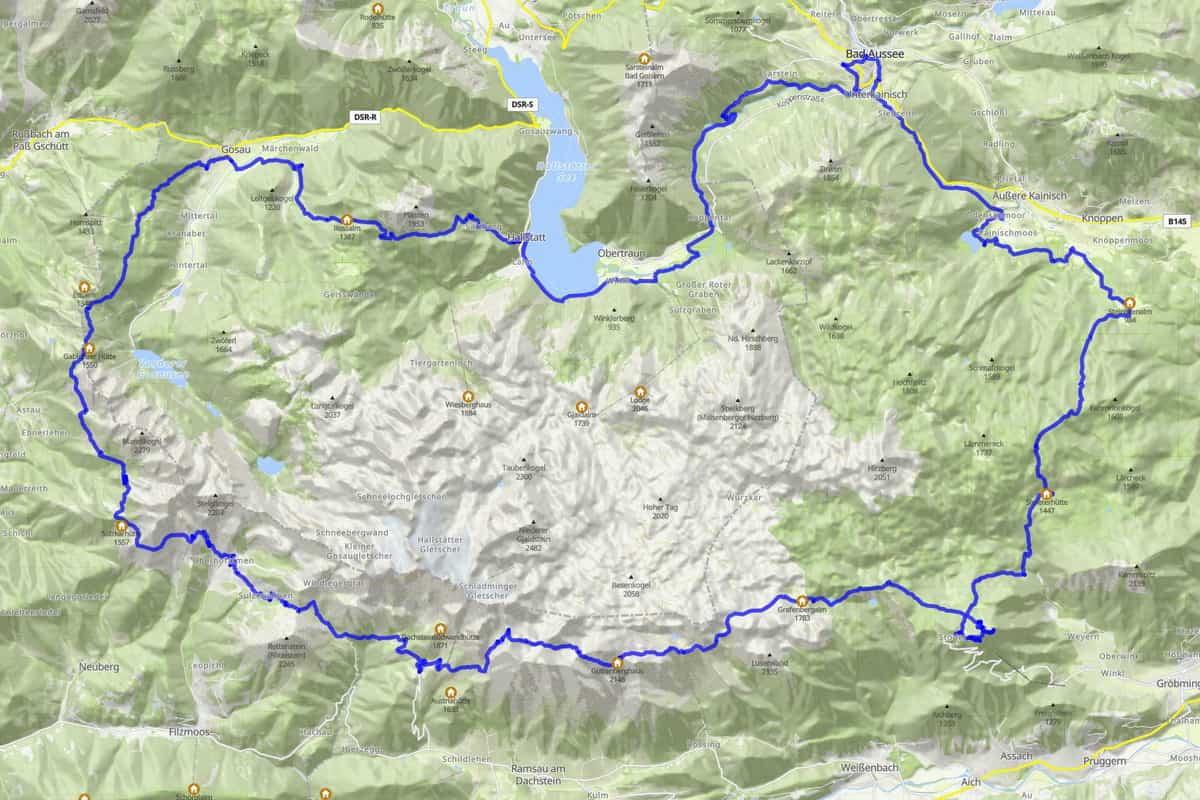 Trail running Dachstein Trail