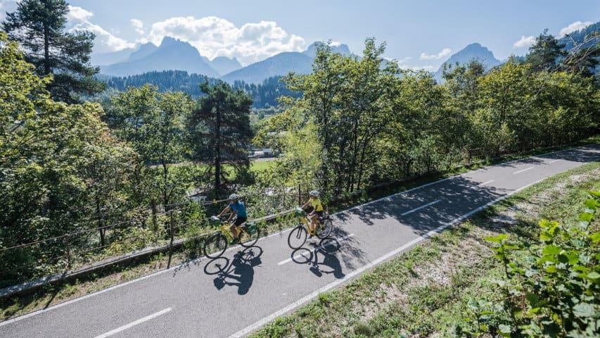 Cykling Val Canale Salzburg-Grado