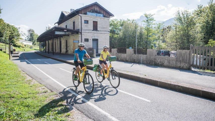 Cykling Salzburg Grado Tarvisio Alpe Adria Cycle Trail