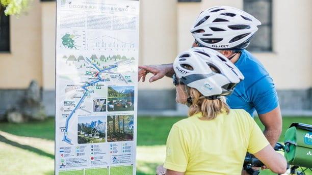 Cykling Alpe Adria Radweg Salzburg Grado