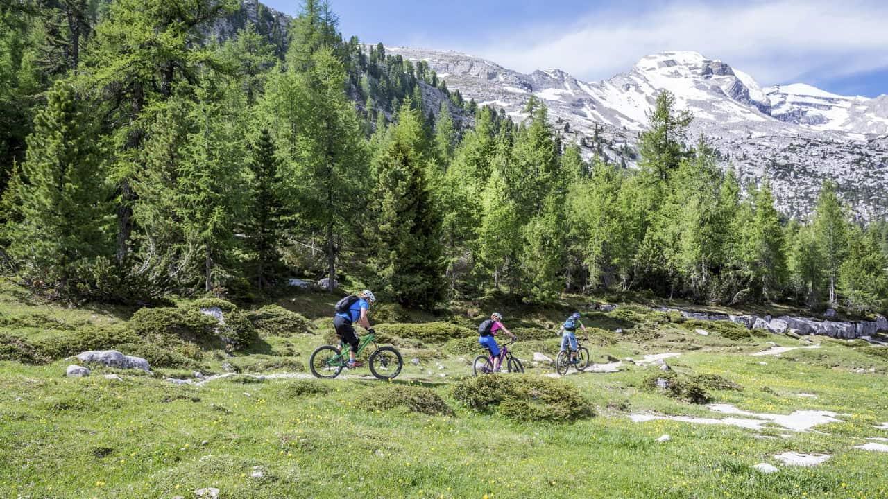 MTB-leder Dolomiterna Austria Travel