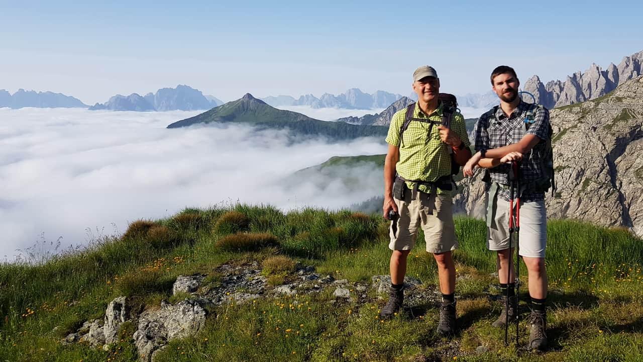Vinn resa tävling alperna österrike